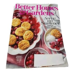 Better Homes and Gardens July 2020 Magazine Spring